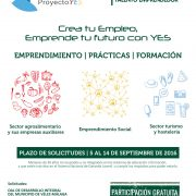 Cartel Proyecto YES - pedropluque
