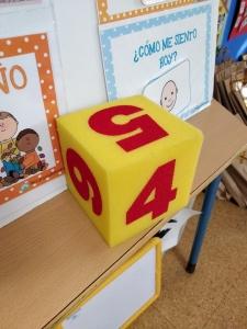 Juego de la Oca con Genially, para Infantil de 3 años - Dados