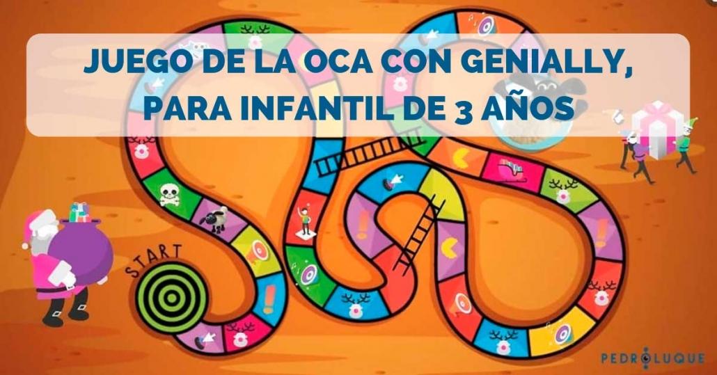 Juego de la Oca con Genially, para Infantil de 3 años - Tablero - Facebook