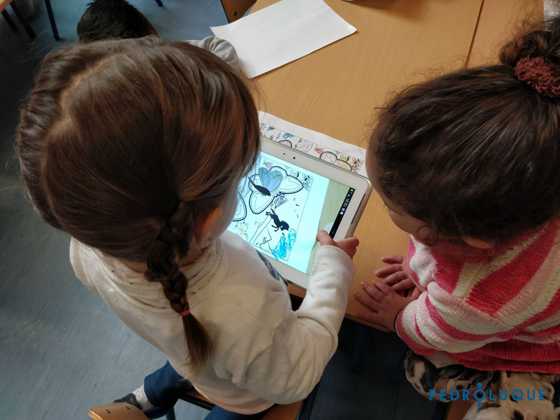 Jugamos con Quiver. Realidad Aumentada en educación infantil. Mariposa