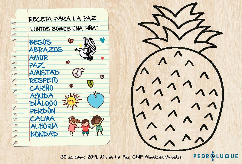 Día de la paz - mural