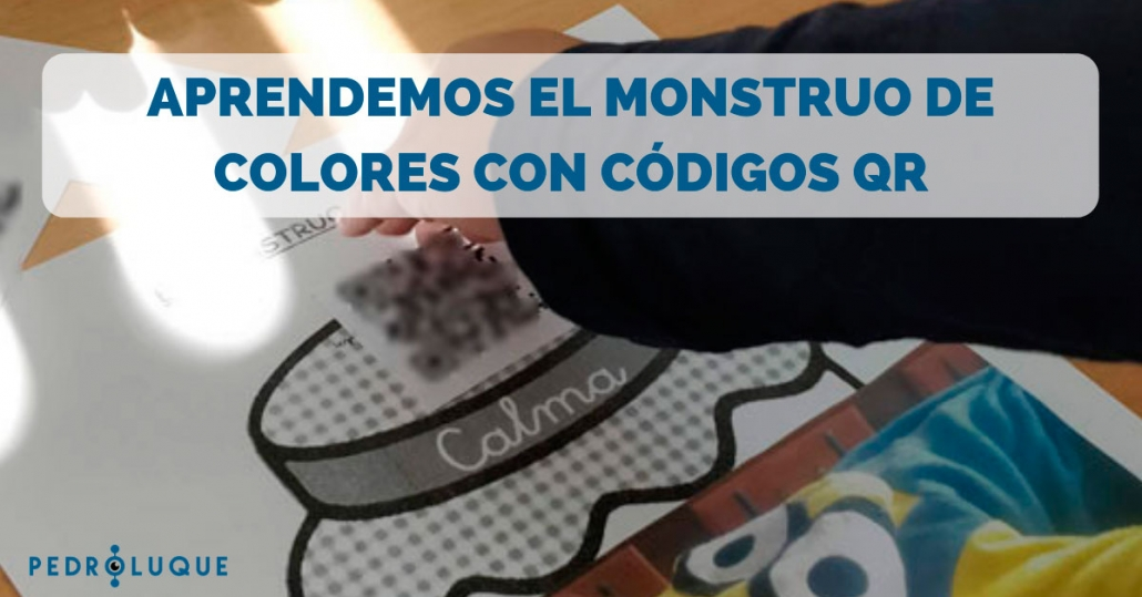 Aprendemos el Monstruo de colores con códigos QR - Facebook