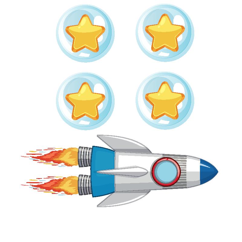 badget 4 gamificación en el espacio