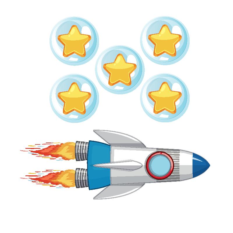 badget 5 gamificación en el espacio