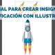 insignias para gamificación con Adobe Illustrator