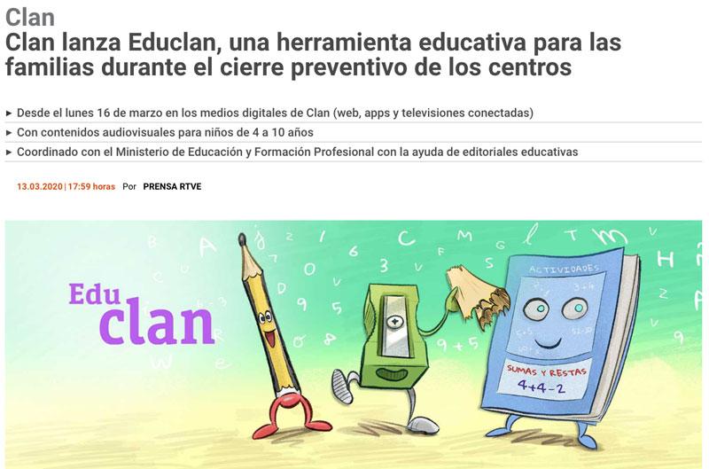 Recopilación de recursos de infantil para casa educlan