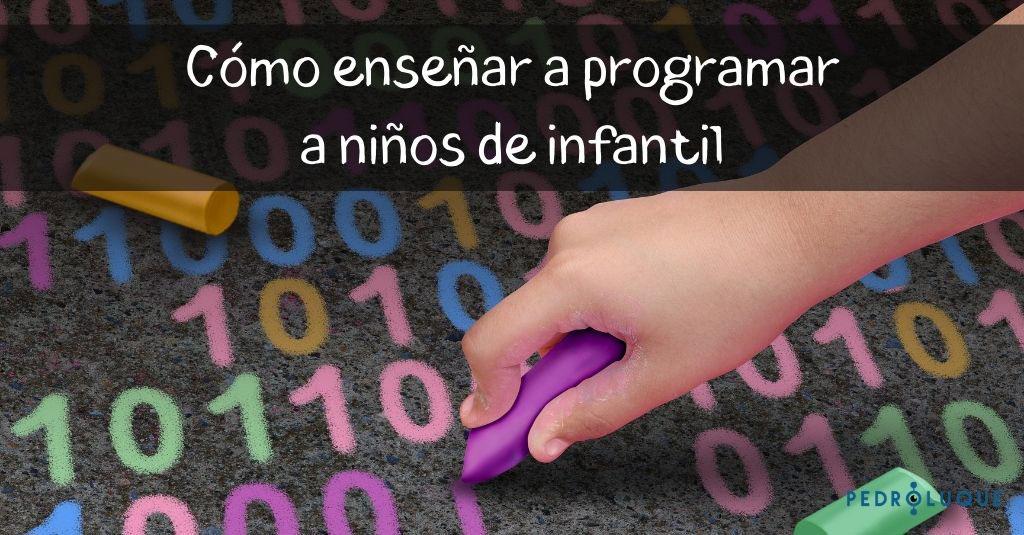 Cómo enseñar a programar a niños de infantil facebook