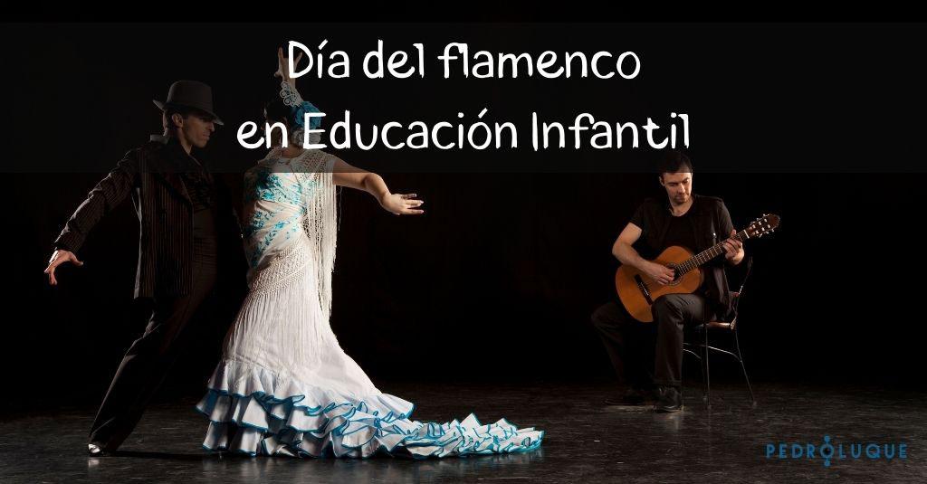 Día del flamenco en educación infantil