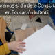 Celebramos el día de la Constitución en Educación Infantil